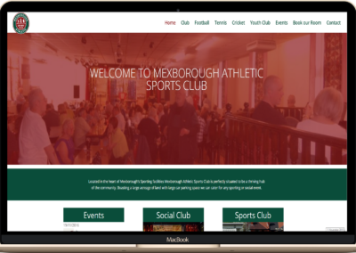 Mexborough Athletic Sports Club Website