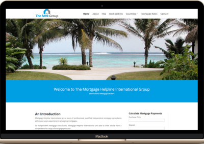 The MHI Group Website